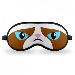 Máscara de Dormir - MEME Grumpy Cat