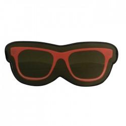 Máscara de Dormir Neoprene Óculos Vermelho
