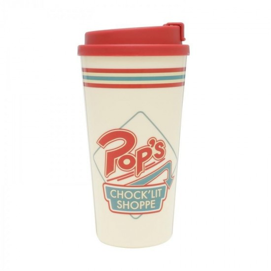 Copo Plástico Grab N Go Riverdale Pops Shoppe Creme