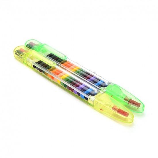 Caneta Giz Crayon 20 Cores