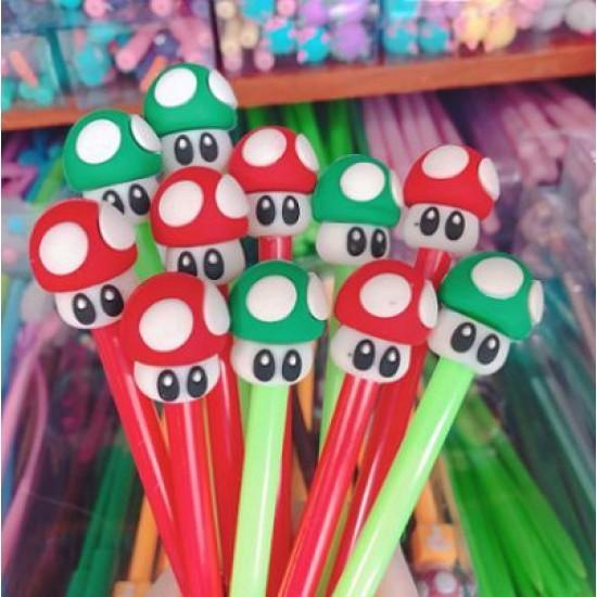 Caneta Cogumelo Mario