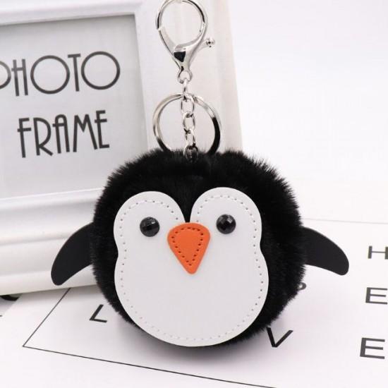 Chaveiro Pompom - Pinguim