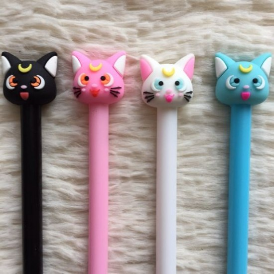 Caneta Gato Sailor Moon