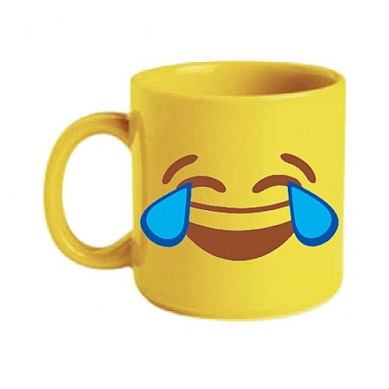 Caneca Chocolate 300ml - Emoji Risos