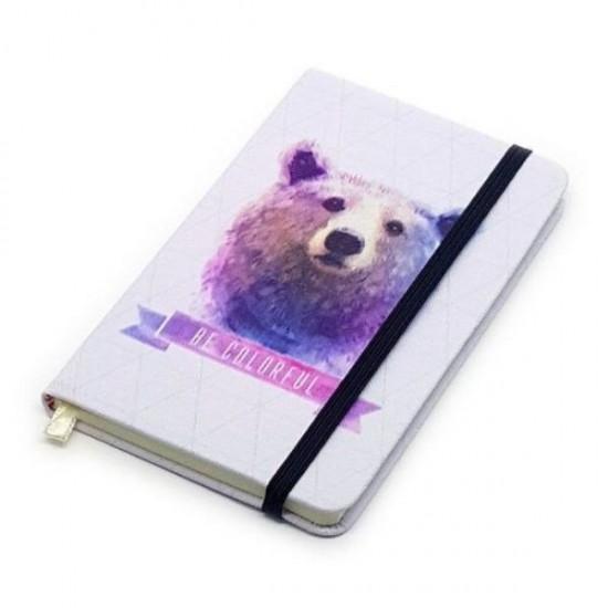 Caderneta de Anotação A6 Be Colorful Urso