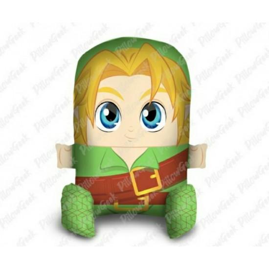 Almofada Pillowgeek Link Zelda 36cm