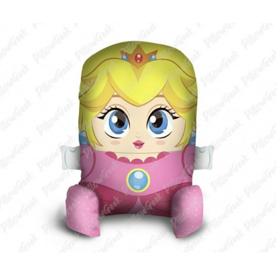 Almofada Pillowgeek Princesa Peach 36cm