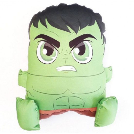 Almofada Pillowgeek Hulk 36cm