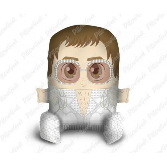 Almofada Pillowgeek Elton John 36cm