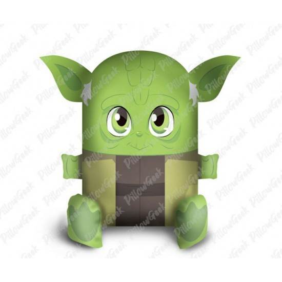 Almofada Pillowgeek Yoda 36cm