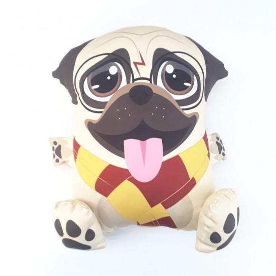 Almofada Pillowgeek Pug Potter 18cm