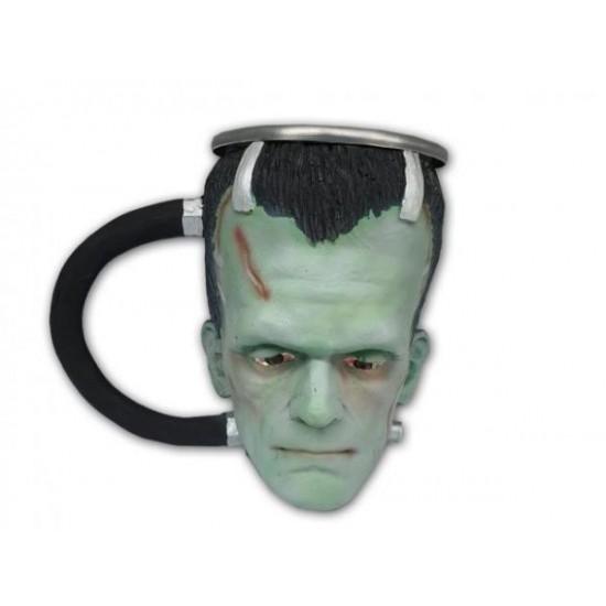 Caneca 3D Resina Frankenstein