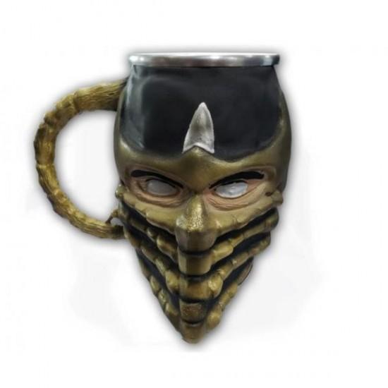 Caneca 3D Resina Scorpion