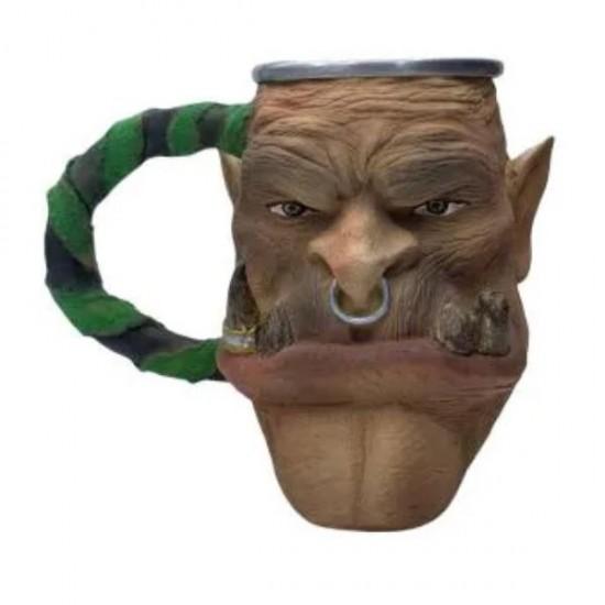 Caneca 3D Resina Orc