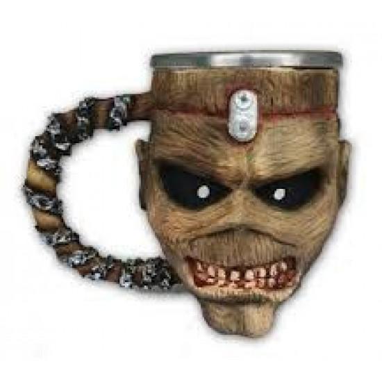 Caneca 3D Resina Iron Maiden