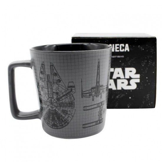 CANECA BUCK 400ML NAVES STAR WARS
