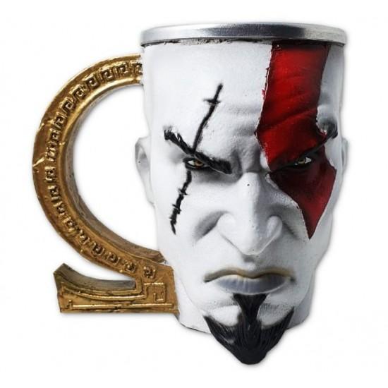 Caneca 3D Resina Kratos