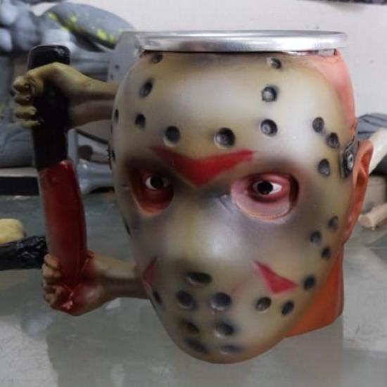 Caneca 3D Resina Jason V2