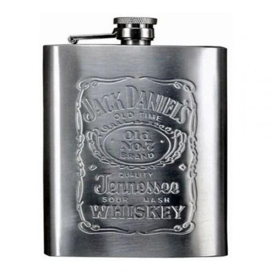 Cantil Aço Inox Jack Daniels 180ml