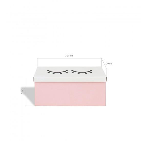 Caixa de Aço p/ Batons Cílios