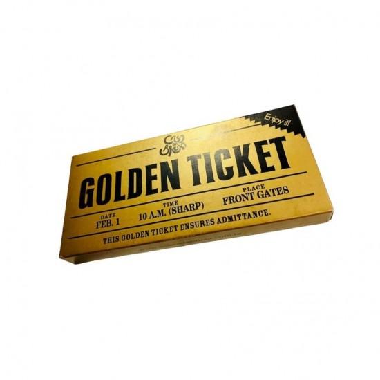 Chocolate Golden Ticket Willy Wonka 50g