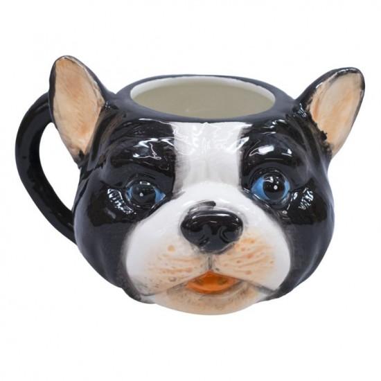 Caneca 3D Cerâmica Cachorro Sortido