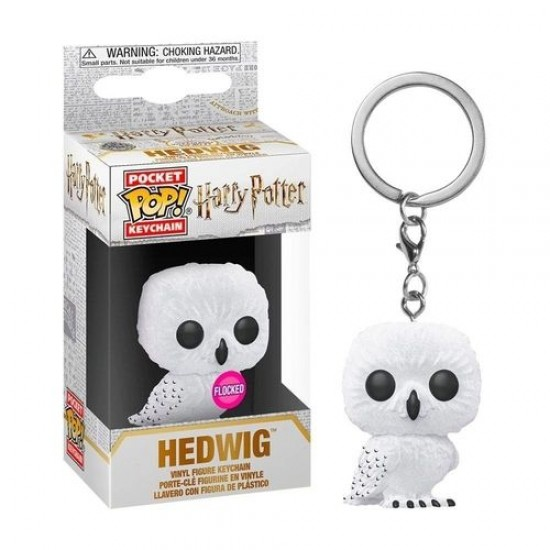 Chaveiro Funko POP - Hedwig (Flocked)