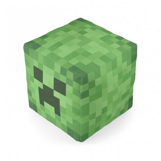 Almofada Cubo Minecraft Creeper