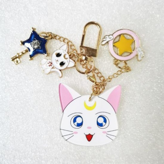 Chaveiro Sailor Moon - 4 Personagens