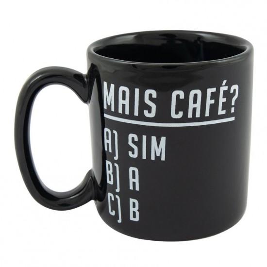 CANECA CILÍNDRICA - MAIS CAFÉ