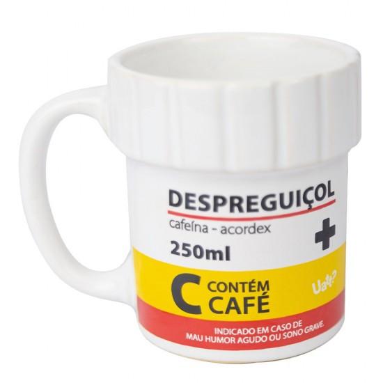 CANECA SHAPE FRASCO - REMÉDIO