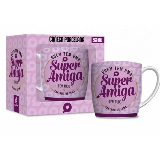 CANECA PORCELANA URBAN 360ML - AMIGA