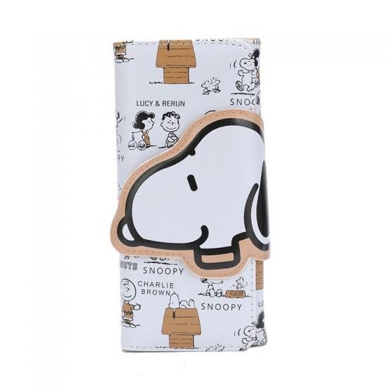 Carteira Retangular Snoopy