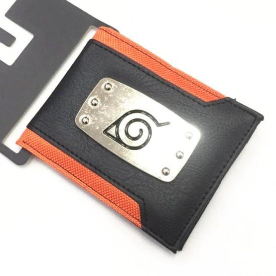 Carteira Aplique - Naruto Bandana