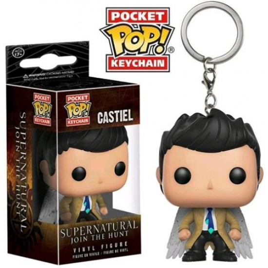 Chaveiro Funko POP - Castiel (With Wings)