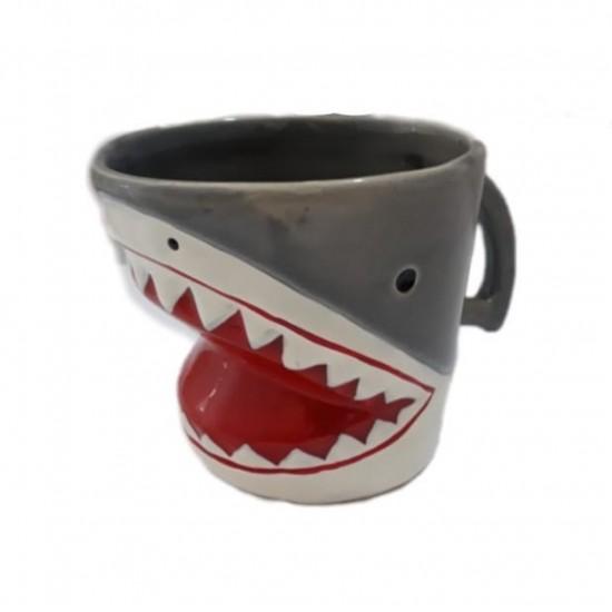 Caneca 3D Tubarão