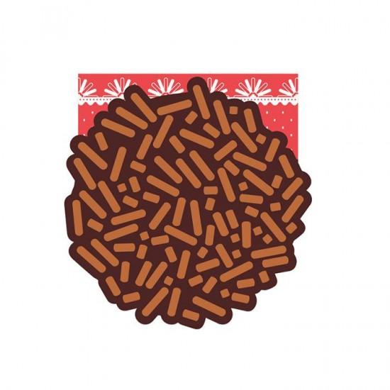 Bloco Reposicionável Candy Brigadeiro