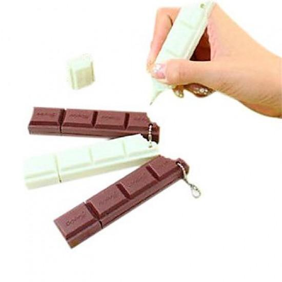 Caneta Barra de Chocolate