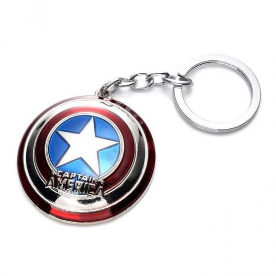 Chaveiro Escudo Capitão América - Metal
