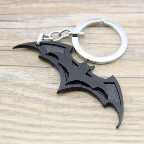 Chaveiro Batman Black Flat Logo