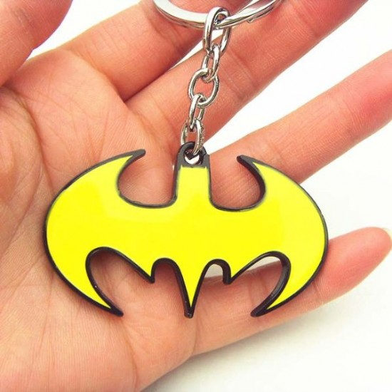 Chaveiro Batman Yellow Logo
