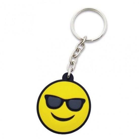Chaveiro Emoticon - Emoji Oculos de sol