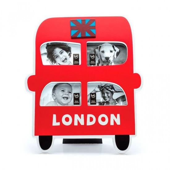 Porta Retrato Ônibus Londres