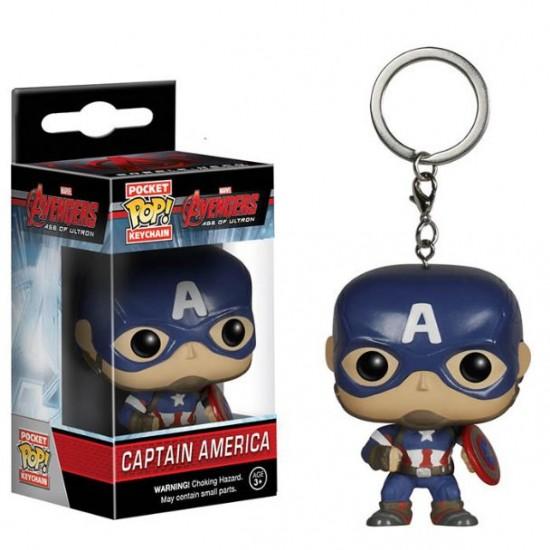 Chaveiro Funko POP - Captain America