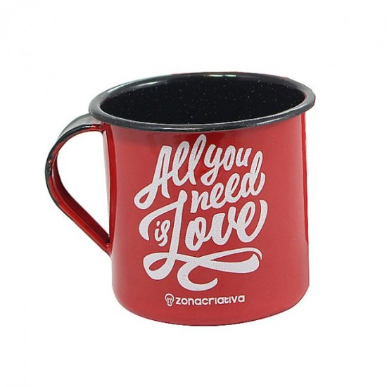 Caneca Agatha 400ml All We Need Is Love