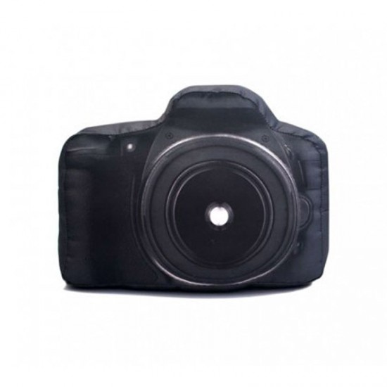 Almofada Formato Câmera Profissional c/ Foto