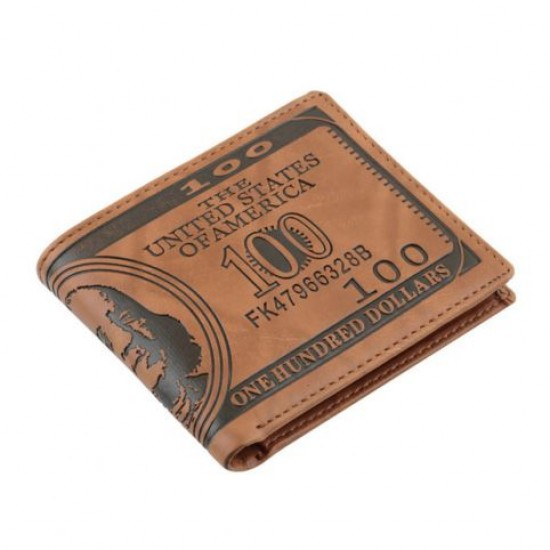 Carteira 100 Dólares Retrô