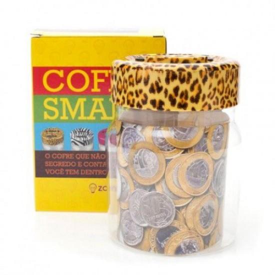 Cofre Smart PVC Leopardo