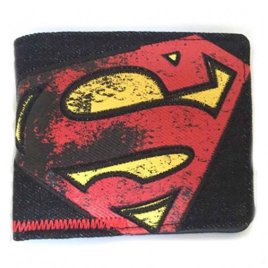 Carteira DC Superman - Jeans