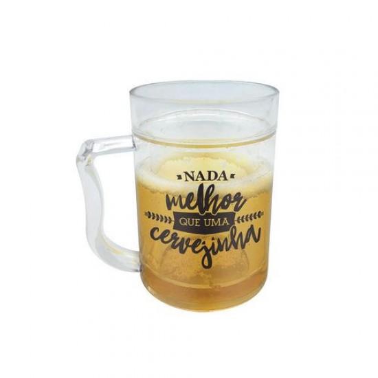Caneca Térmica Mini Chopp - Cervejinha